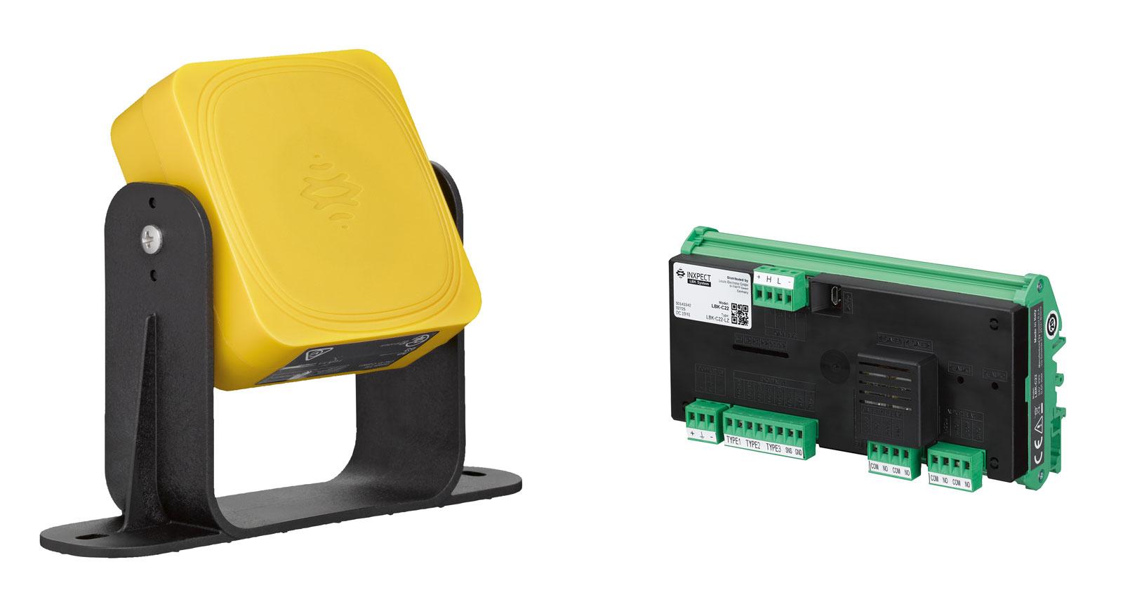 Radarowy system bezpieczeństwa LBK umożliwia niezawodne trójwymiarowe monitorowanie stref ochronnych w wymagających środowiskach produkcyjnych